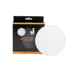 Жесткие полировальные диски JETA PRO, 5873311,Белый рифленый 150*25мм 1ый-шаг